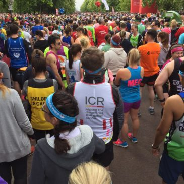 Supporters take on London Marathon challenge