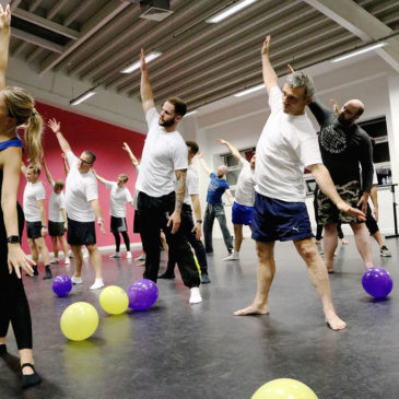 Fantastic Fundraising – charity Ballet class with a twist encourages men to speak out!