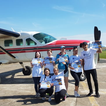 Brave skydivers raise over £12,000 for the charity during Mental Health Awareness Week