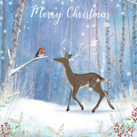 Deer in the Forest Christmas Card Pack