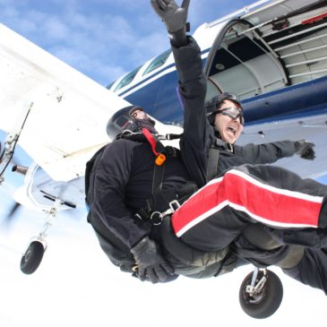 Challenge yourself and skydive for Mental Health Awareness Week!