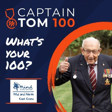 Mid and North East Essex Mind Supporters Invited to Celebrate Captain Sir Tom's Achievements in Special Fundraising Event