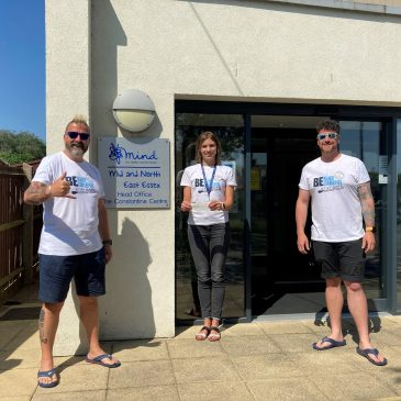 East of England Paddlesports splash the cash for Mental Health!