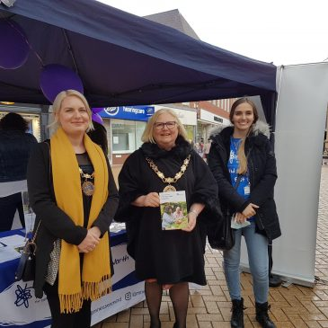 Mayor of Chelmsford supports our charity for a second year in a row!